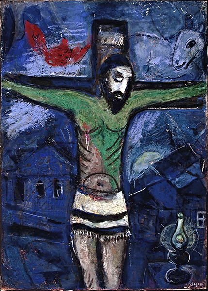 Chagall, Christ in the Night, 1948