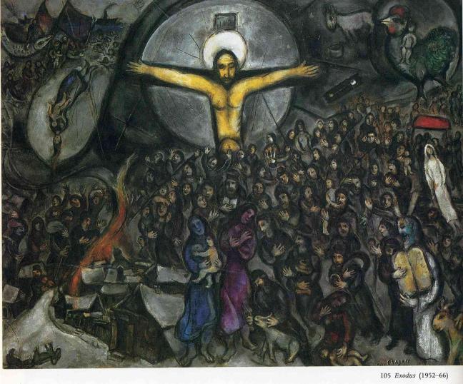 Exodus-1966, Marc Chagall