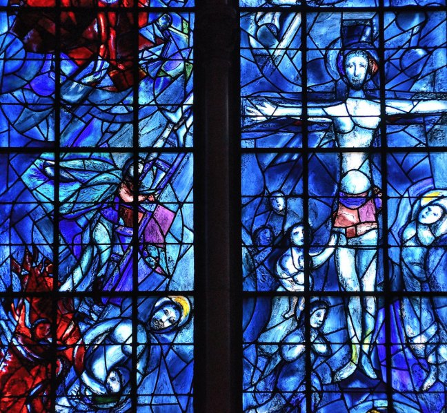 Israel as One, Chagall, Reims Cathedral