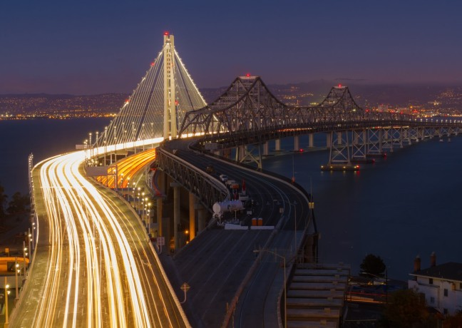 SF Time Lapse Bridge